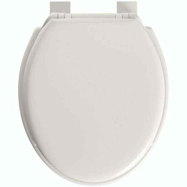 Celmac Wirquin family soft close toilet seat