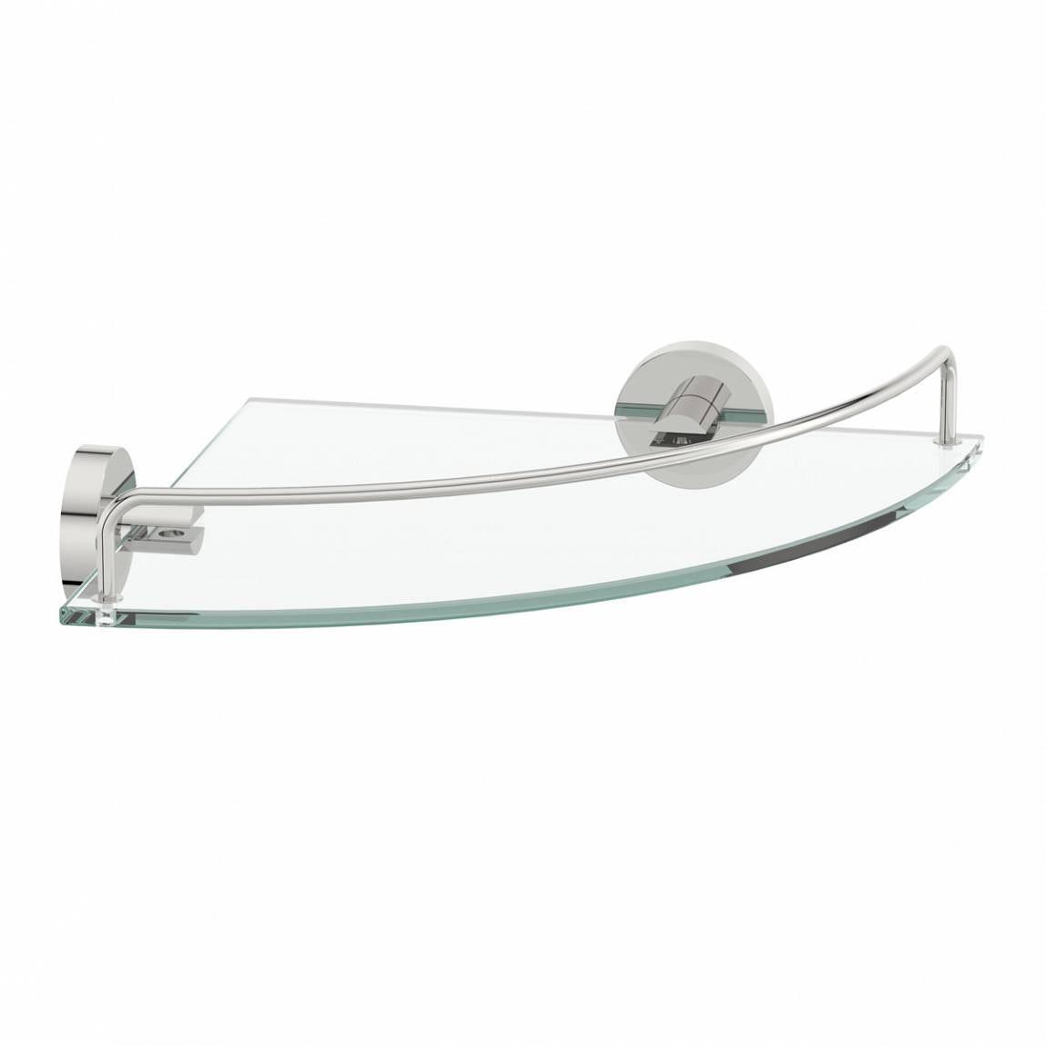 Matrix Glass Corner Shelf