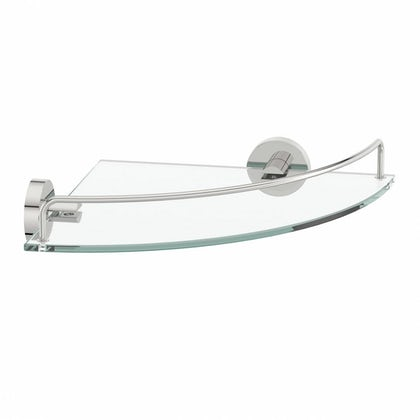 Matrix Glass Corner Shelf