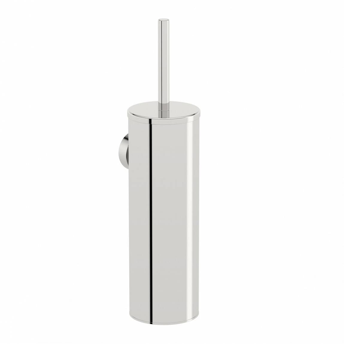 Orchard Options wall mounted stainless steel toilet brush holder