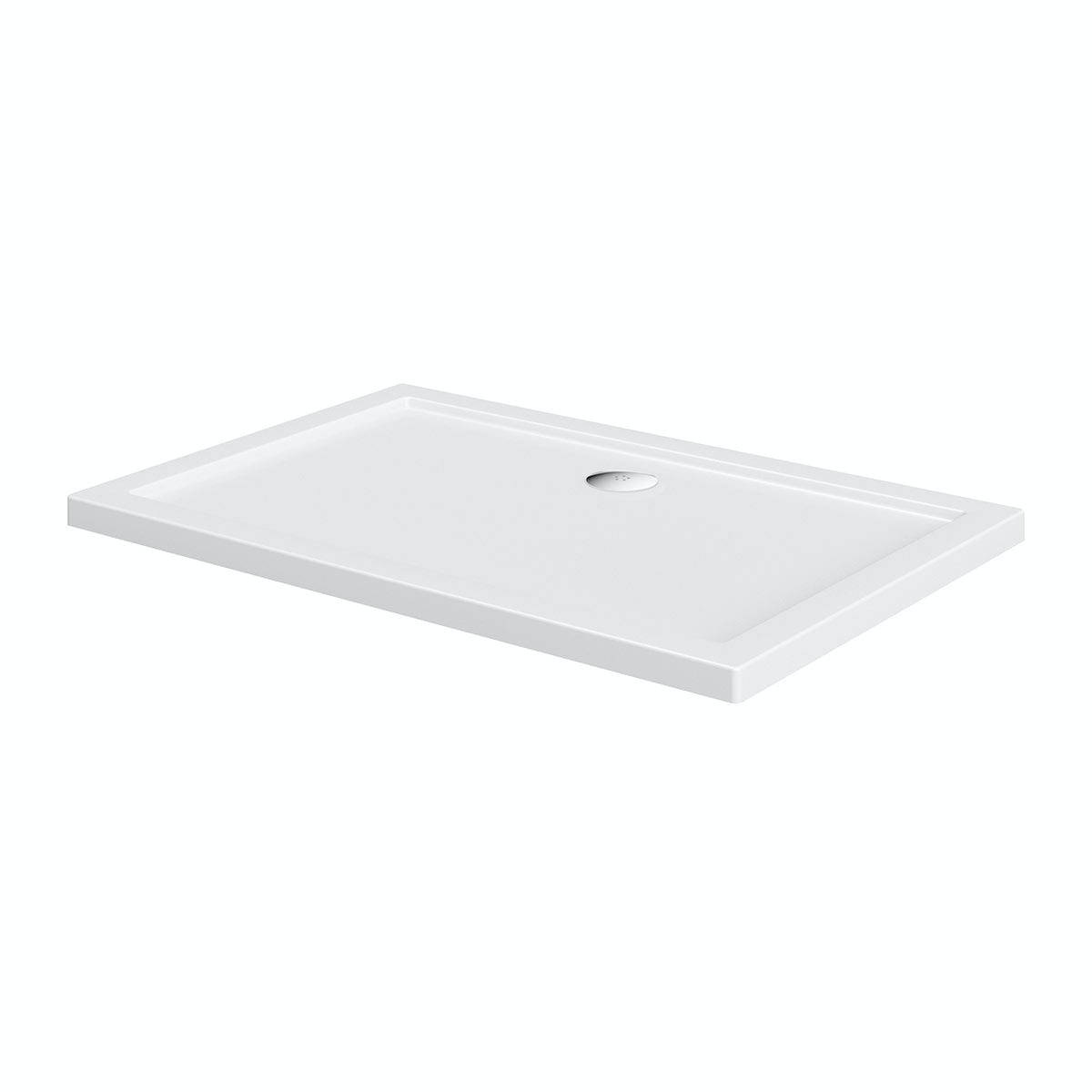 Orchard Rectangular stone shower tray 1000 x 800