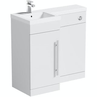 MySpace White Combination Unit LH including Concealed Cistern