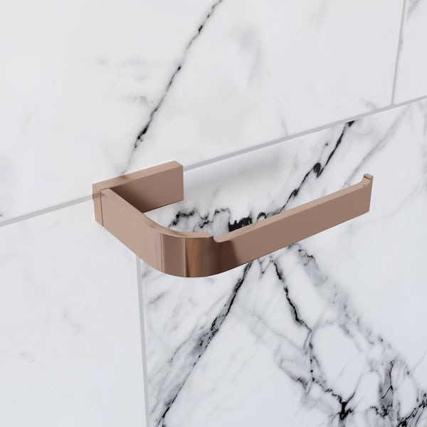Mode Spencer rose gold toilet roll holder
