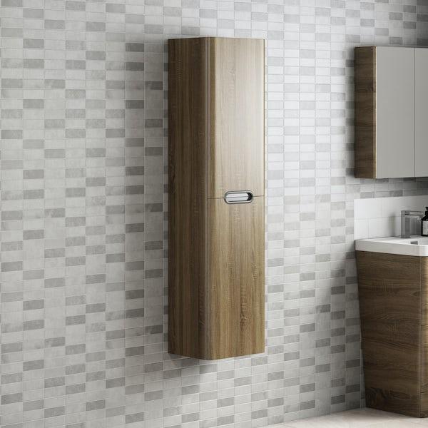 Fine Decor ceramica stone tile grey wallpaper