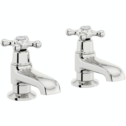 The Bath Co. Camberley bath pillar taps