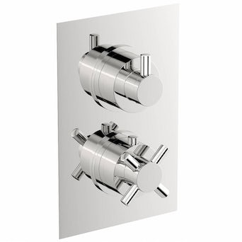 Alexa Square Twin Valve with Diverter Special Offer