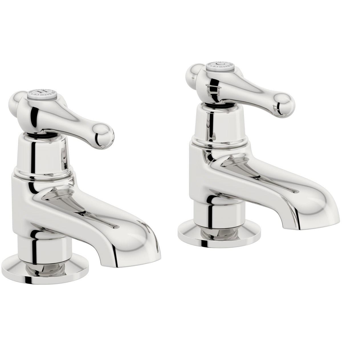 The Bath Co. Camberley lever bath pillar taps