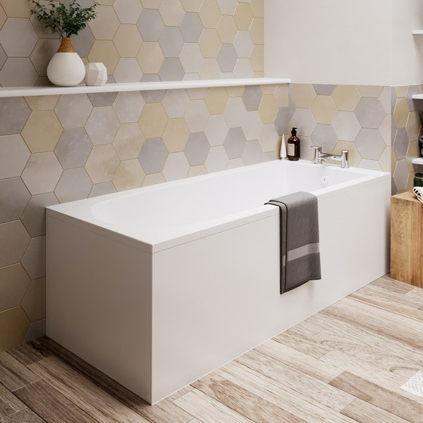 Ideal Standard Tesi straight bath Idealform Plus+ 1700 x 700